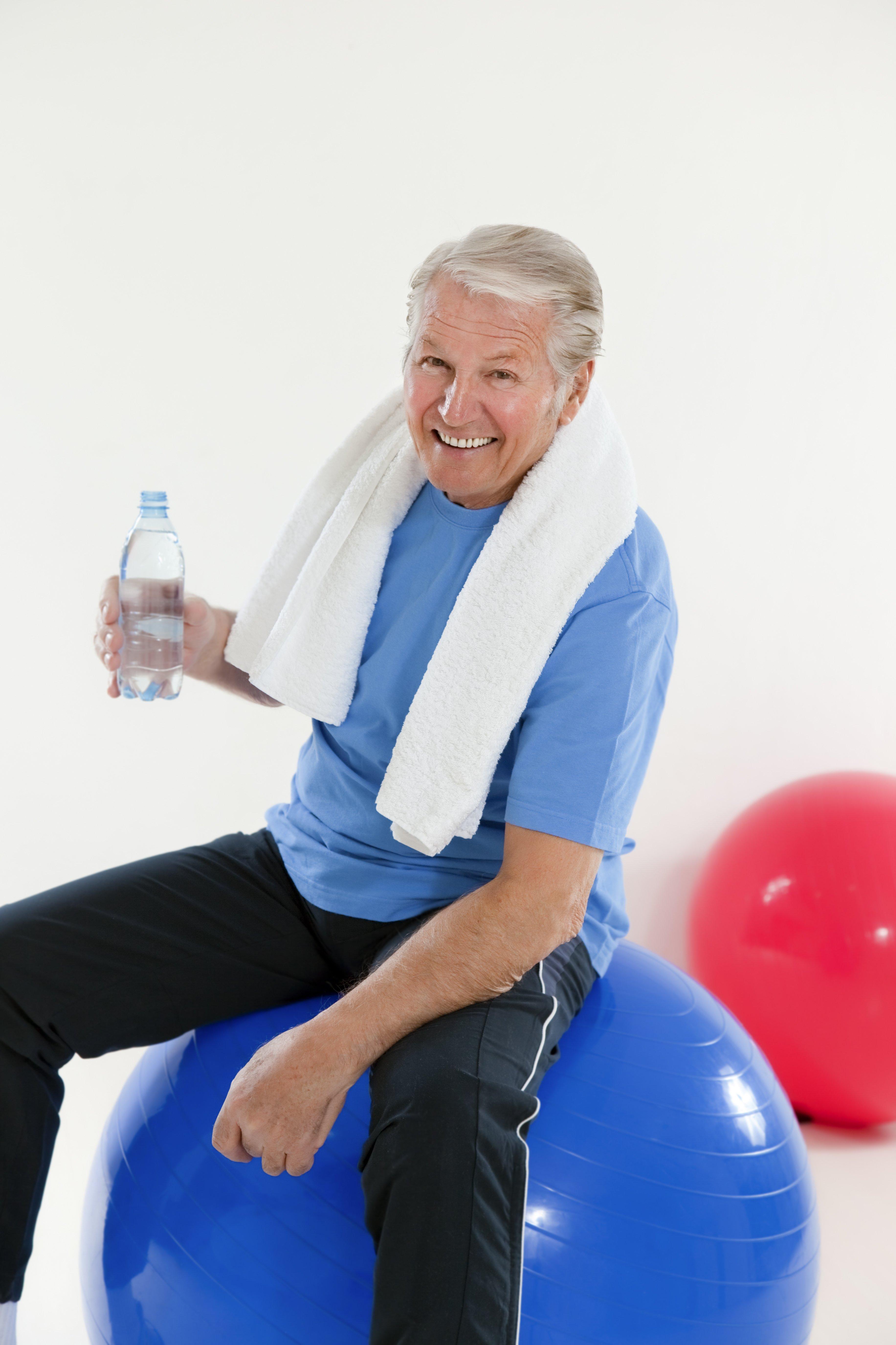 anziano fitball